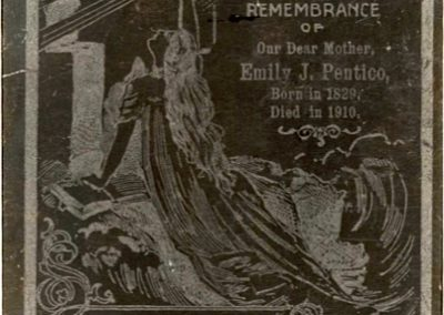 Memorial Card for Emily Pentico